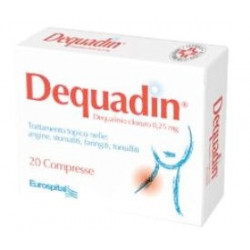 Dequadin 20 Compresse 0,25mg
