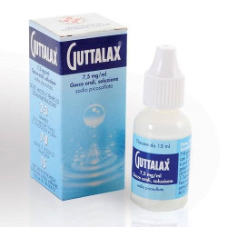 Guttalax* Gocce 15ml 7,5mg/Ml