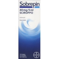 Sobrepin* Sciroppo 200ml 40mg/5ml