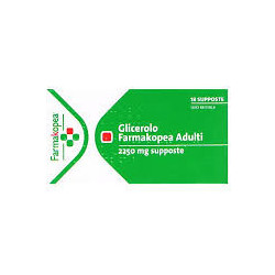 Glicerolo Farmakopea *18 Supposte 2250mg
