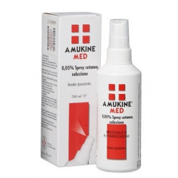 Amukine Med*spray Cutaneo 200ml 0,05%