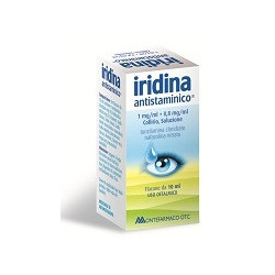 Iridina Antistaminico* Collirio10ml 10mg+8mg
