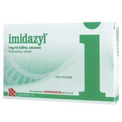 Imidazyl*collirio 10fl 1d 1mg/Ml