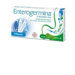 Enterogermina* 10 Flaconi 2mld/5ml