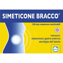 Simeticone Bracco 24 Compresse 120mg