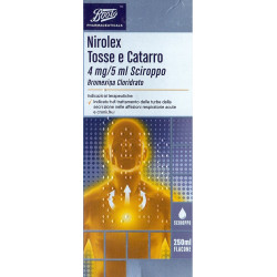 Boots pharmaceuticals Nirolex Tosse Catarro Sciroppo 250ml
