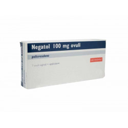 Negatol*7 Ovuli Vaginali 0,1g Con Applicatore