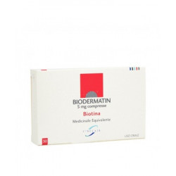 Biodermatin* 30 Compresse 5mg