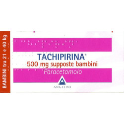 Tachipirina* Bambini 10 Supposte 500mg