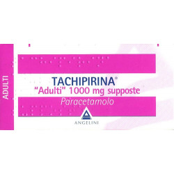 Tachipirina*adulti 10 Supposte 1000mg
