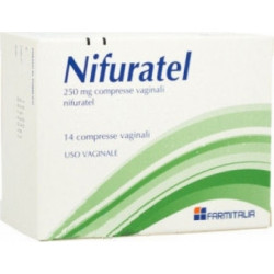 Nifuratel Farmitalia*14 Compresse Vaginali 250mg