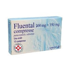 Fluental*adulti 15 Compresse 300mg+150mg