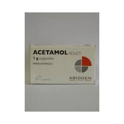Acetamol*adulti 10 Supposte 1g