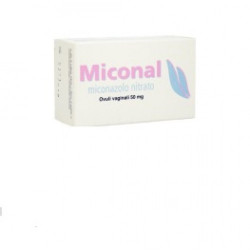 Miconal*15 Ovuli Vaginali 50mg