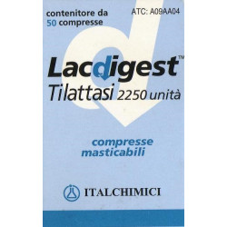 Lacdigest 50 Compresse 2250u