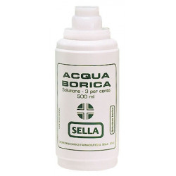 Acido Borico Sella*3% 500ml