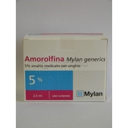 Amorolfina Mylan *smalto 2,5ml 5%
