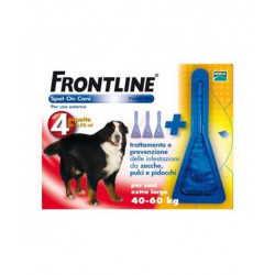 Frontline Spot On Cani Xl 40-60kg 4 Pipette Da 4,02ml